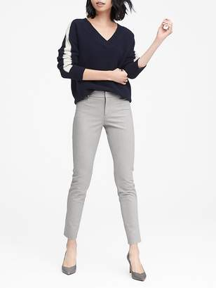 Banana Republic Petite Sloan Skinny-Fit Brushed Bi-Stretch Ankle Pant