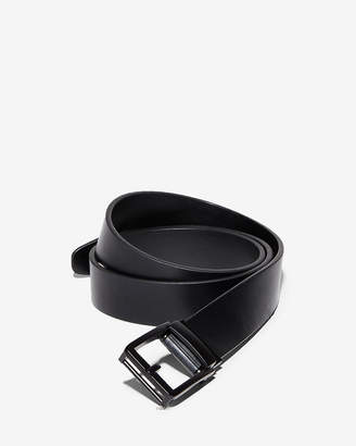 Express Custom Fit Prong Leather Slide Belt