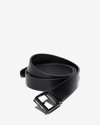 Express Custom Fit Prong Leather Slide Belt