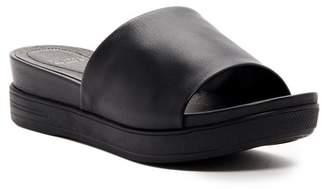 Eileen Fisher Scout Platform Slide Sandal $155 thestylecure.com