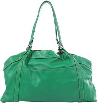 Hogan Green Leather Handbag