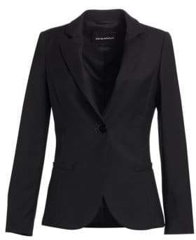 Emporio Armani Core One-Button Blazer