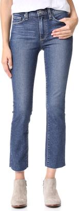 PAIGE Jacqueline Straight Jeans $219 thestylecure.com