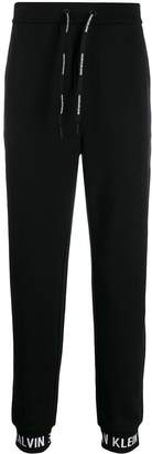 Calvin Klein Jeans branded cuff track pants