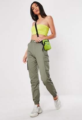 Missguided Tall Khaki Plain Cargo Pants