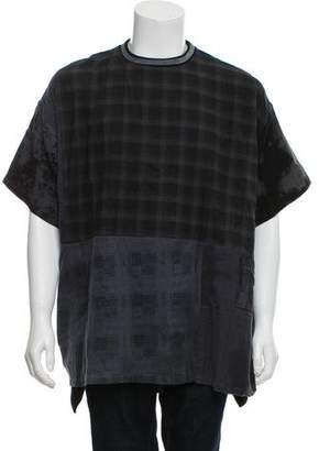Longjourney Distressed Baggy T-Shirt w/ Tags