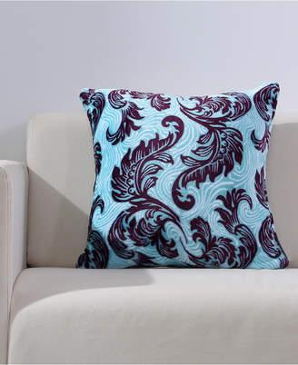 "Berkshire Bold Blooms VelvetLoft 18"" Square Decorative Pillow"