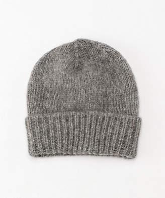 [NT(ナンバートゥエンティワン) オープンエンド] アルパカ混ニット帽子(8F-CAL-OE-WDO 004)