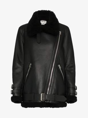Acne Studios Velocite shearling flight jacket