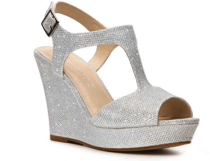 Rampage Women's Candelas Wedge Sandal