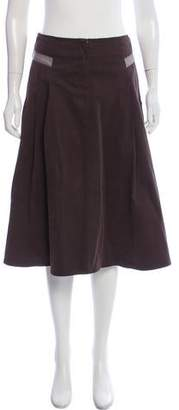 Max Mara Weekend Zip-Up Knee-Length Skirt