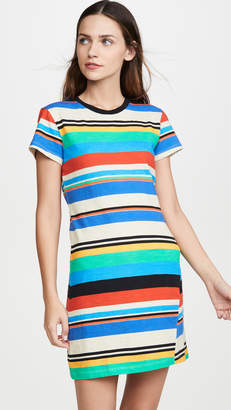 Pam & Gela Stripe Print T-Shirt Dress