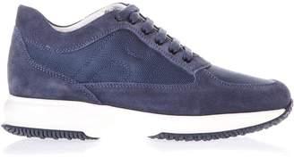 Hogan Interactive Suede & Nylon Sneakers