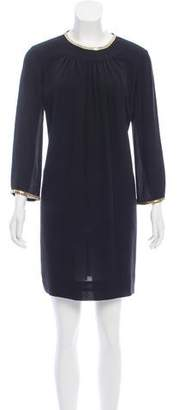 3.1 Phillip Lim Silk Gold-Accented Dress