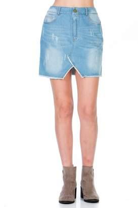 Paper Crane Emma Denim Skirt
