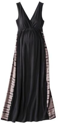 Liz Lange for Target® Maternity Sleeveless Maxi Dress - Black/Taupe