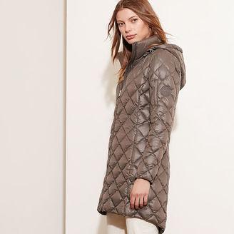 Ralph Lauren Packable Down Hooded Coat $250 thestylecure.com