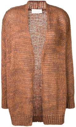 Chiara Bertani loose knit cardigan