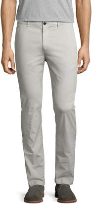 Theory Zaine SW Patton Chino Pants, Light Gray
