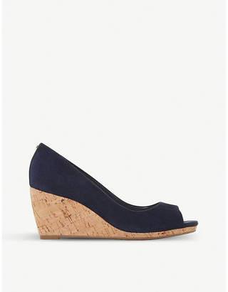 6244290f24d Dune Caydence suede wedge sandals