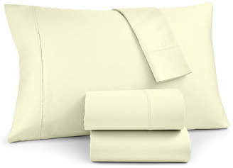 Charter Club Sleep Luxe 4-Pc. Solid Full Sheet Set, 700 Thread Count Egyptian Cotton, Created for Macy's Bedding