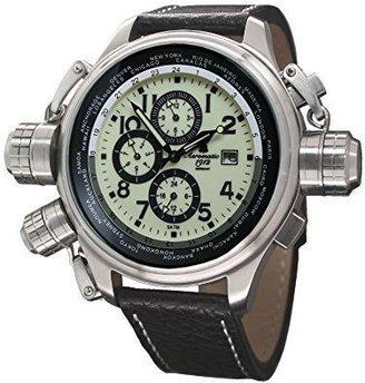 Aeromatic1912 BigサイズAutomatic Movement WatchからAeromaticドイツa1424