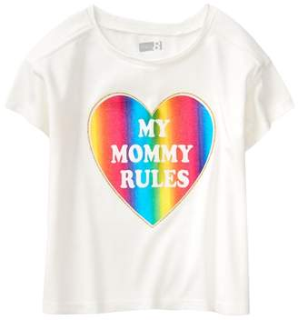 Crazy 8 My Mommy Rules Crop Tee
