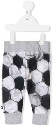 Molo football print track trousers