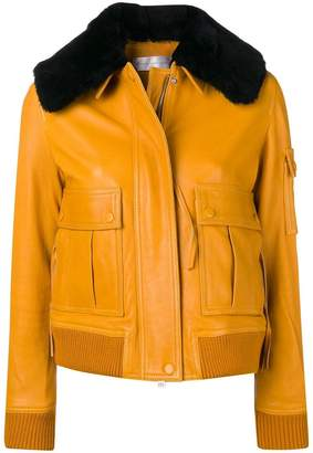Victoria Beckham Victoria detachable collar jacket