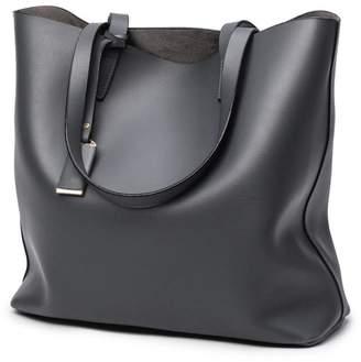 e6df9b4006 at Amazon Canada · Hynbase Hynbse Women Fashion Large Light Weight Summer  Soft Leather Tote Bag Cross Shoulder Handbag