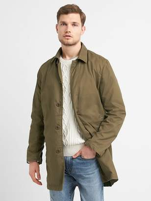 Gap Casual Mac Jacket in Twill