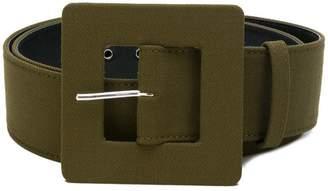 Maison Rabih Kayrouz oversized buckle belt