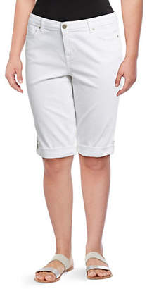 Style&Co. STYLE & CO. Plus Classic Skimmer Shorts