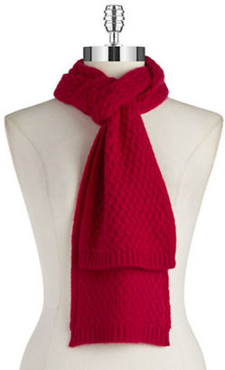 Lord & Taylor Cashmere Knit Scarf $125 thestylecure.com