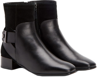 Aquatalia Lilly Waterproof Leather & Suede Bootie