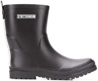 Stutterheim flat ankle boots