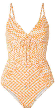 7634dcdc5ed Womens Swimsuit Orange One Piece - ShopStyle