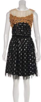 Rodarte A-Line Patterned Dress