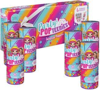 Party Pop Teenies Party Popteenies Surprise Poppers