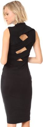 KENDALL + KYLIE Twisted Body Con Dress $265 thestylecure.com