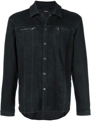 John Varvatos denim shirt jacket