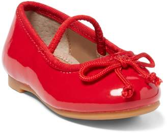 Ralph Lauren Nellie Leather Ballet Flat