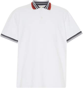 Marni Cotton-Pique Polo Shirt