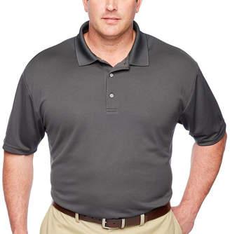PGA Tour TOUR Short Sleeve Airflux Solid Polo- Big & Tall