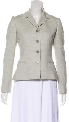 Ralph Lauren Black Label Wool Point Collar Blazer