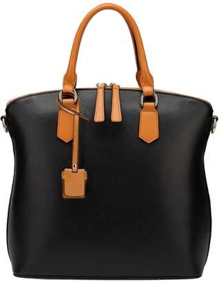 Vicenzo Leather Delicio Top Handle Leather Handbag