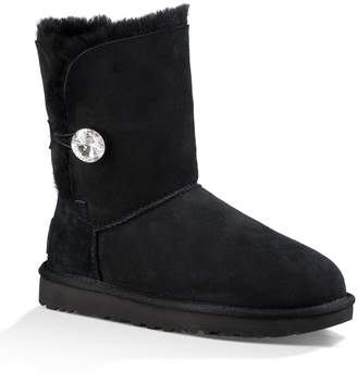 UGG Bailey Button Bling Genuine Shearling Boot