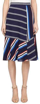 Whistles Multi Stripe Skirt $210 thestylecure.com