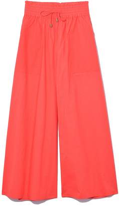 Apiece Apart Galicia Wide Leg Pant in Red