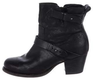 Rag & Bone Leather Harrow Ankle Boots